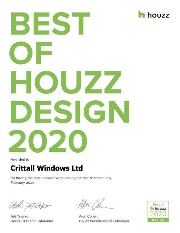 Uk Best Of Houzz Certificate Design
